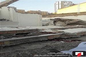 مرگ کارگر ۲۵ ساله زیر قطعات بتن منزل ویلایی