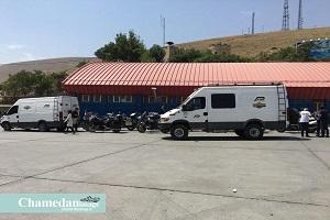 تصاویری دیدنی از موتورسواران فرانسوی در ایران