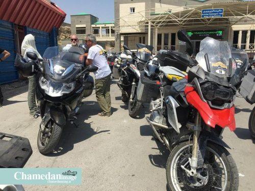 موتورسواران فرانسوی در ایران