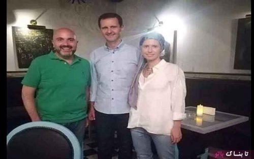 پوشش همسر بشار اسد