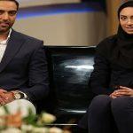 اولین حضور کیمیا علیزاده و همسرش در تلویزیون
