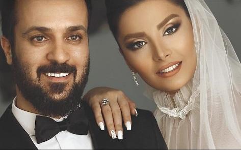 مراسم عروسی احمد مهرانفر و همسرش