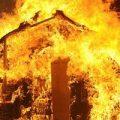 تصاویری از آتش سوزی وحشتناک بازیگران در صحنه فیلمبرداری