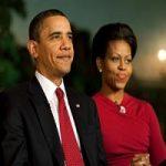 باراک اوباما و همسرش میشل در سال ۱۹۹۲
