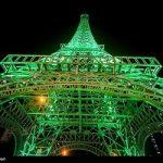 تصاویری از افتتاح برج نمادین ایفل در کیش