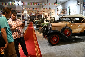 بزرگ ترین موزه اتومبیل های لوکس در چین