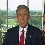 حرکت عجیب بوش در مراسم خاکسپاری مک کین