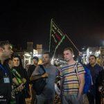تصاویری از حضور توریست ها در عزاداری حسینی