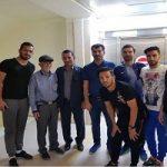 عیادت استقلال خوزستان از مجروحان حادثه تروریستی اهواز
