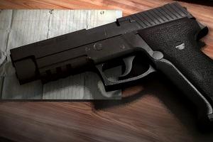 اسلحه سبک شبیه گوشی هوشمند