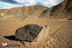 سنگهایی که بدون دخالت انسان حرکت می کنند