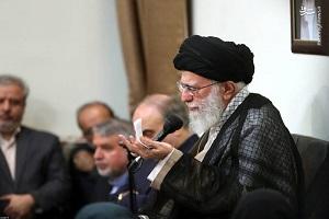 دیدار مدال آوران ایران در جاکارتا با رهبر انقلاب اسلامی