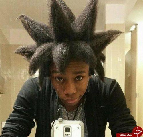 مدل موهای عجیب
