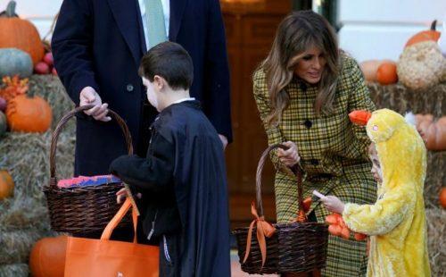 جشن هالووین در کاخ سفید