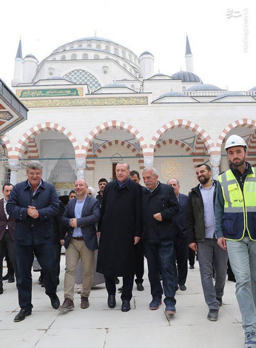 بزرگترین مسجد ترکیه