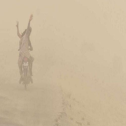 توفان شن و کاهش کیفیت هوا در سیستان و بلوچستان
