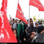 حجت الاسلام رئیسی در پیاده روی اربعین حسینی