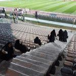 استقرار خانم های پلیس در ورزشگاه آزادی