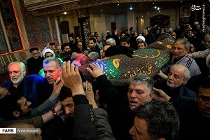 مراسم تشییع پیکر سید ابوالقاسم شجاعی