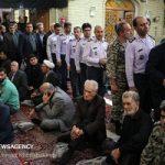 تصاویری از مراسم بزرگداشت پدر سردار حاجی زاده