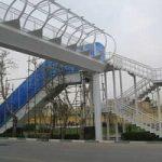 پله برقی پل عابر پیاده در بومهن ، شبانه به سرقت رفت