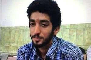 تصویری از شهید محسن حججی میان شهدای عصائب عراق