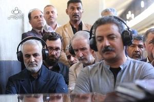 آغازشدن فیلمبرداری فیلم «بیست و سه نفر» با حضور سردار سلیمانی