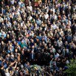 تصاویری از حاشیه مراسم تشییع شفیع مجری ورزشی