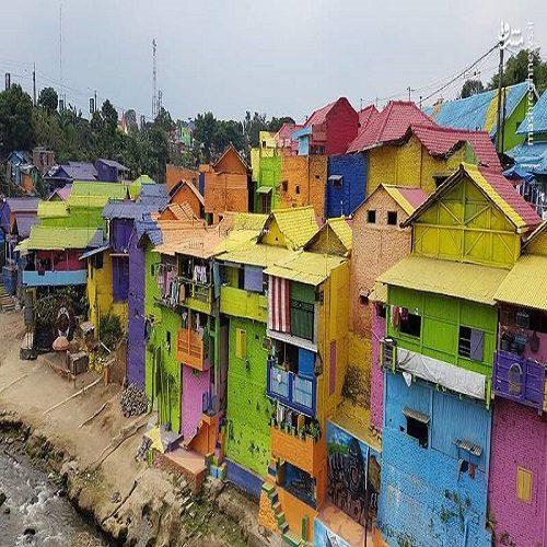 منطقه فقیرنشین ملانگ به جاذبه توریستی تبدیل شد