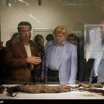 نمایش مومیایی طبیعی در موزه ملی ایران