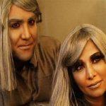 کنایه بازیگر ایرانی به گریم زنانه برای مردان