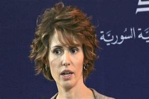 پوشش متفاوت همسر بشار اسد بعد از شروع شیمیدرمانی