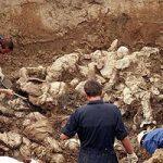 کشف گور دسته جمعی با ۱۵۰۰ جسد در حومه شهر