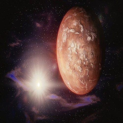 اولین تصویر هیجانانگیز از سیاره مریخ دریافت شد
