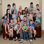 تولد فرزند بیست و یکم در یک خانواده پرجمعیت بریتانیایی