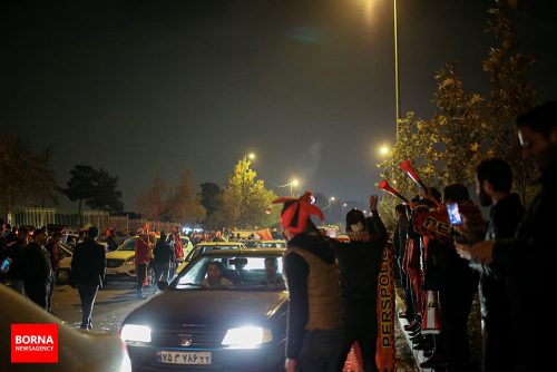 حال و هوای استادیوم آزادی