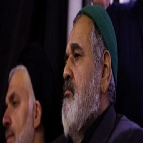 پوشش متفاوت سرلشکر فیروزآبادی در سالگرد حاج حبیب الله عسگراولادی