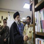 حضور سرزده حجتالاسلام رئیسی به ترنجستان سروش