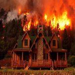 آتش گرفتن خانه سلبریتی ها در آتش سوزی کالیفرنیای آمریکا