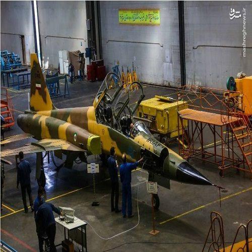 تصاویری از افتتاح خط تولید جت جنگنده کوثر در اصفهان