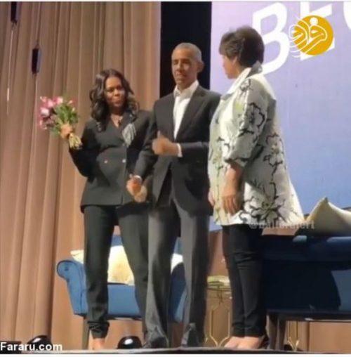 رقص اوباما