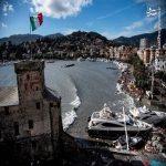 تصاویری از خسارت های طوفان در ایتالیا