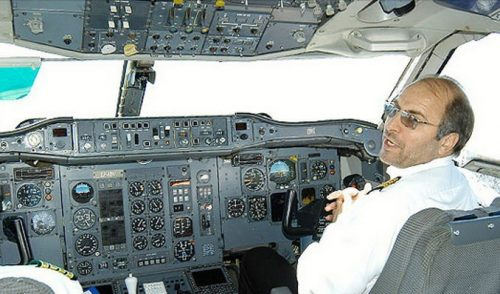 خلبانی محمدباقر قالیباف