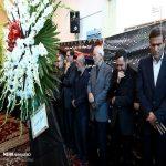 تصاویری از مراسم ختم عبدالرحمن تاج الدین در حسینیه اعظم اصفهان