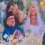 مراسم عروسی ملکه زیبایی روسی با پادشاه مالزی در تالار مجلل