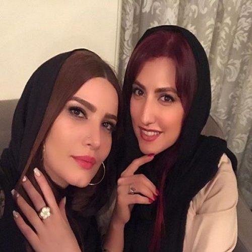 عکس بازیگران زن مشهور ایرانی در کنار ماشینهای لاکچری