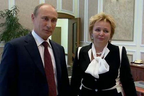 همسر سابق پوتین