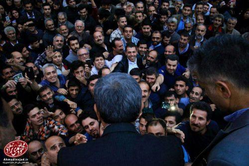 احمدی نژاد در گیلان