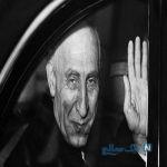 اسپری پاشی روی نام مصدق در تهران + تصاویر