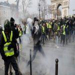 اقدام عجیب شبکه سه در پوشش اعتراضات پاریس